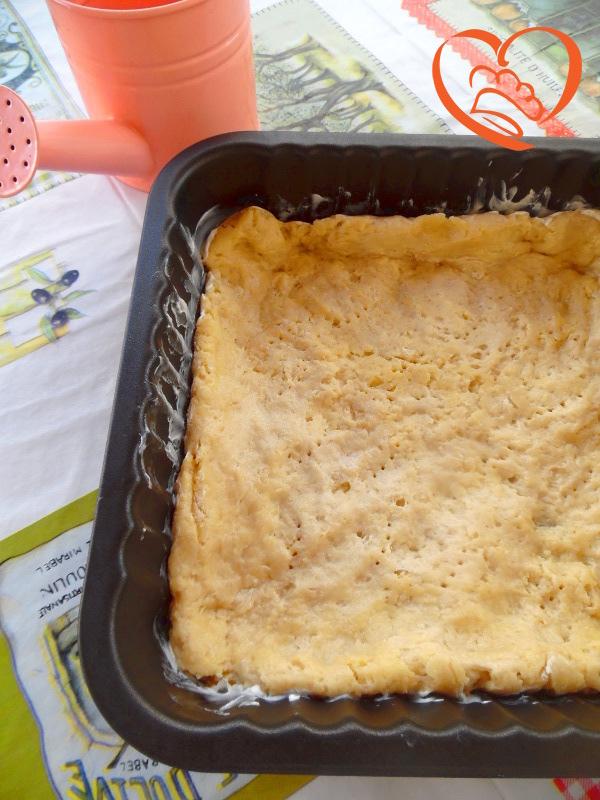 Pasta frolla con robiola dolce/salato