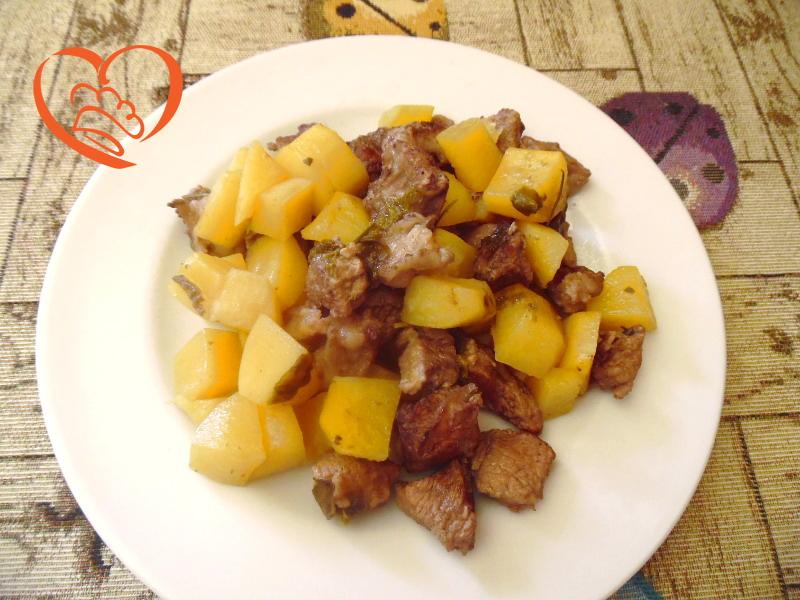 Spezzatino di vitello e patate
